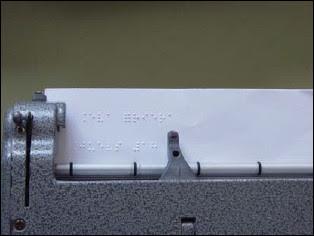 Máquina de escritura Braille