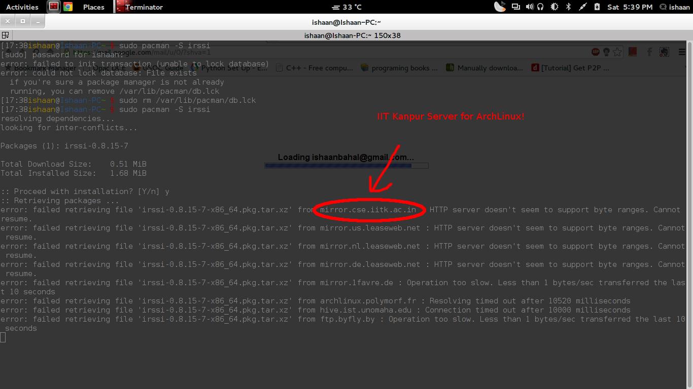 arch linux firewall