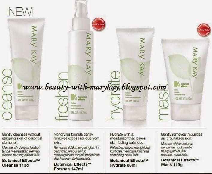 Mary kay Botanical Effect skincare