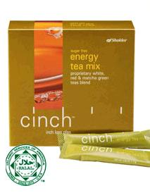 Cinch Energy Tea Mix, Minuman Pengganti Teh