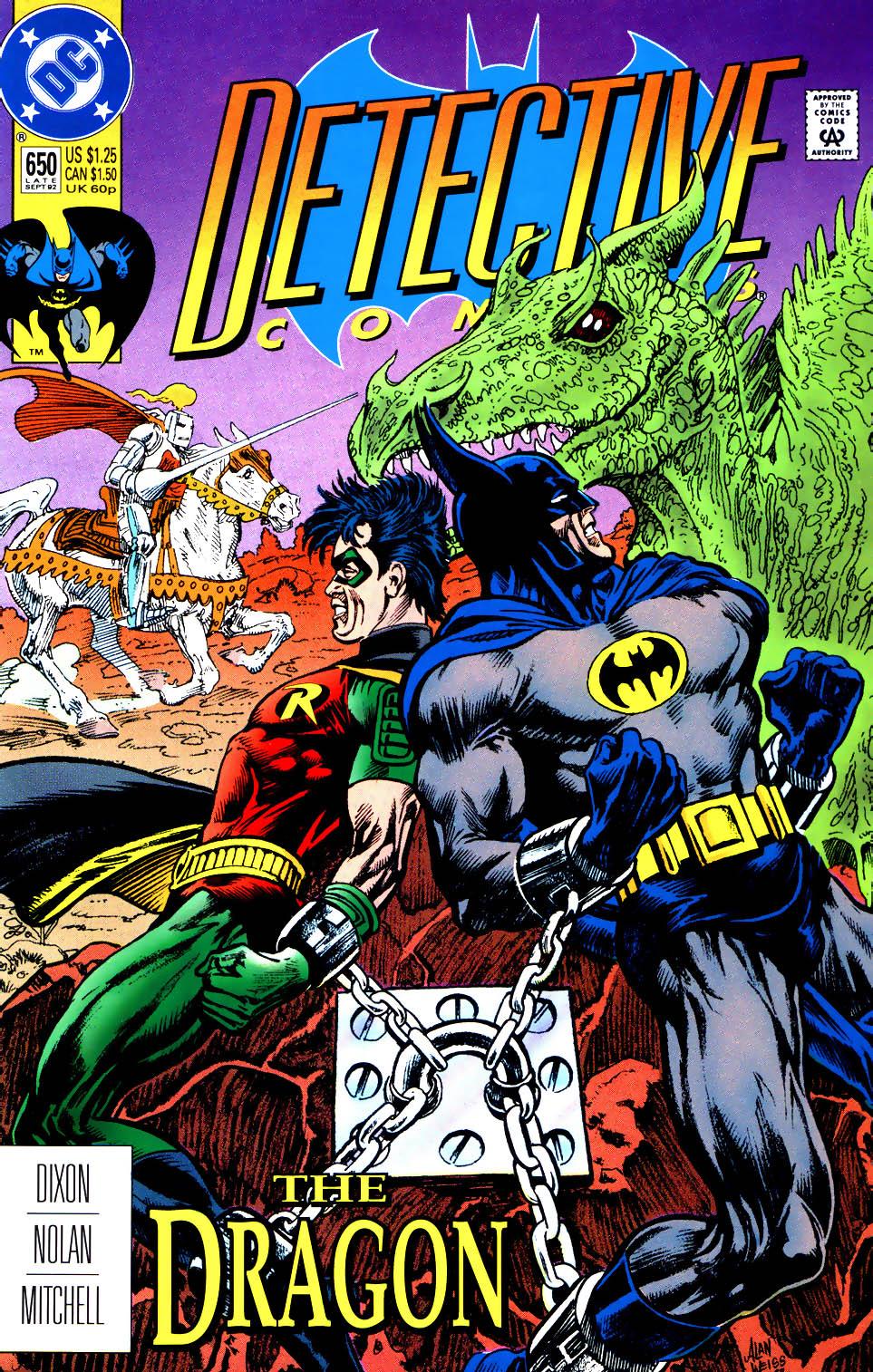 Detective Comics (1937) 650 Page 1