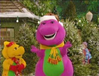 Barney: A Very Merry Christmas-The Movie Review - Thrifty Nifty Mommy