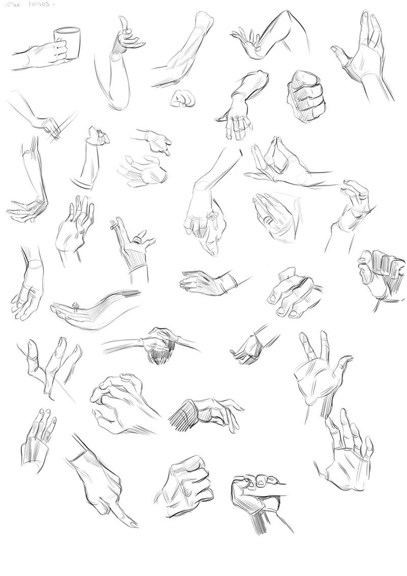 life drawing dublin warm ups 1 minute hand gestures