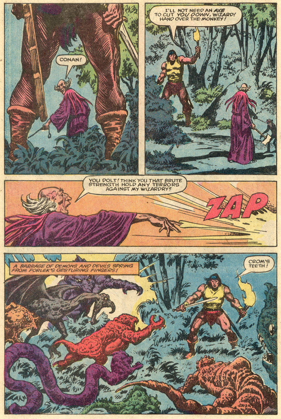 Conan the Barbarian (1970) Issue #148 #160 - English 21
