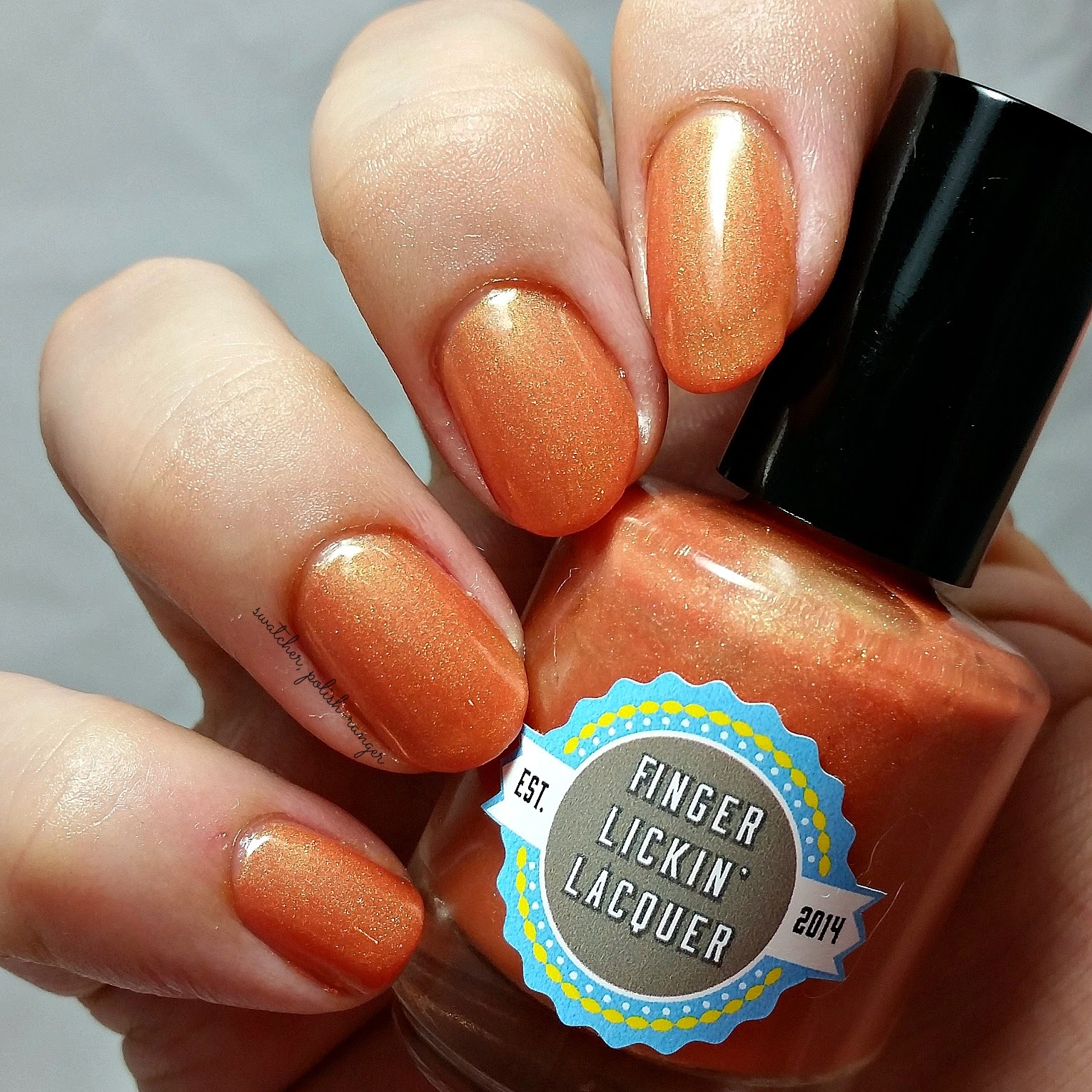 Finger Lickin' Lacquer Pumking swatch