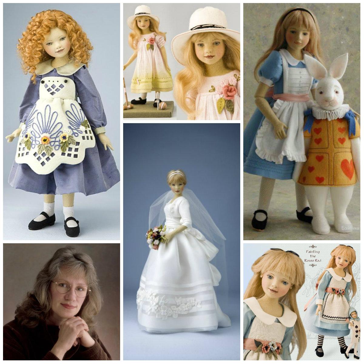 мэгги иаконо куклы из войлока