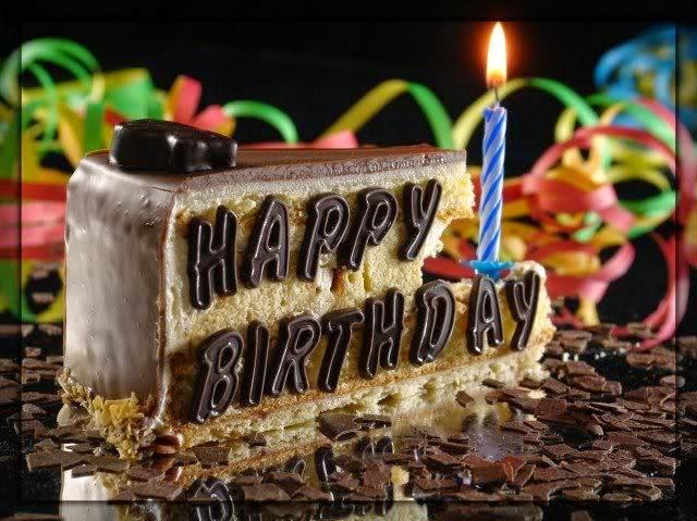HD BIRTHDAY WALLPAPER Chocolate cake