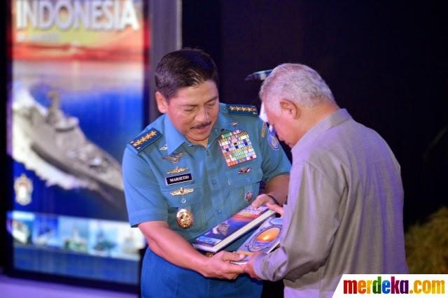 Kasal luncurkan dua buku tentang kedaulatan laut Indonesia
