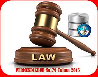 Permendikbud Dapodik No 79 Tahun 2015