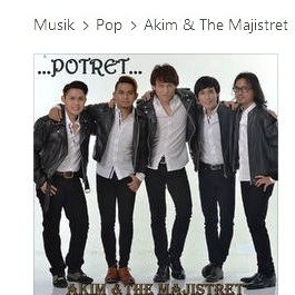 Akim and The Majistret - Potret ( Lirik dan Download lagu)