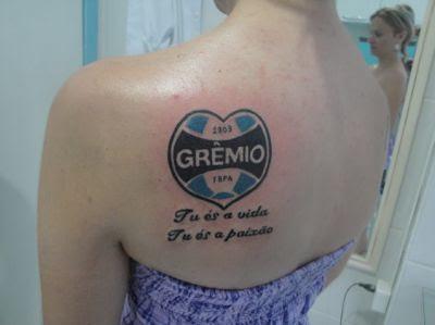 Fotos de desenhos de Tatuagens do Grêmio
