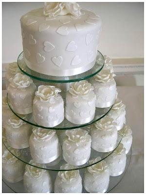 Wedding Cake Cupcakes Designs