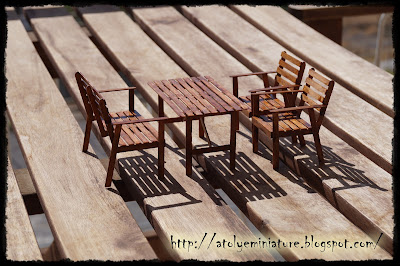 1:12 garden furniture