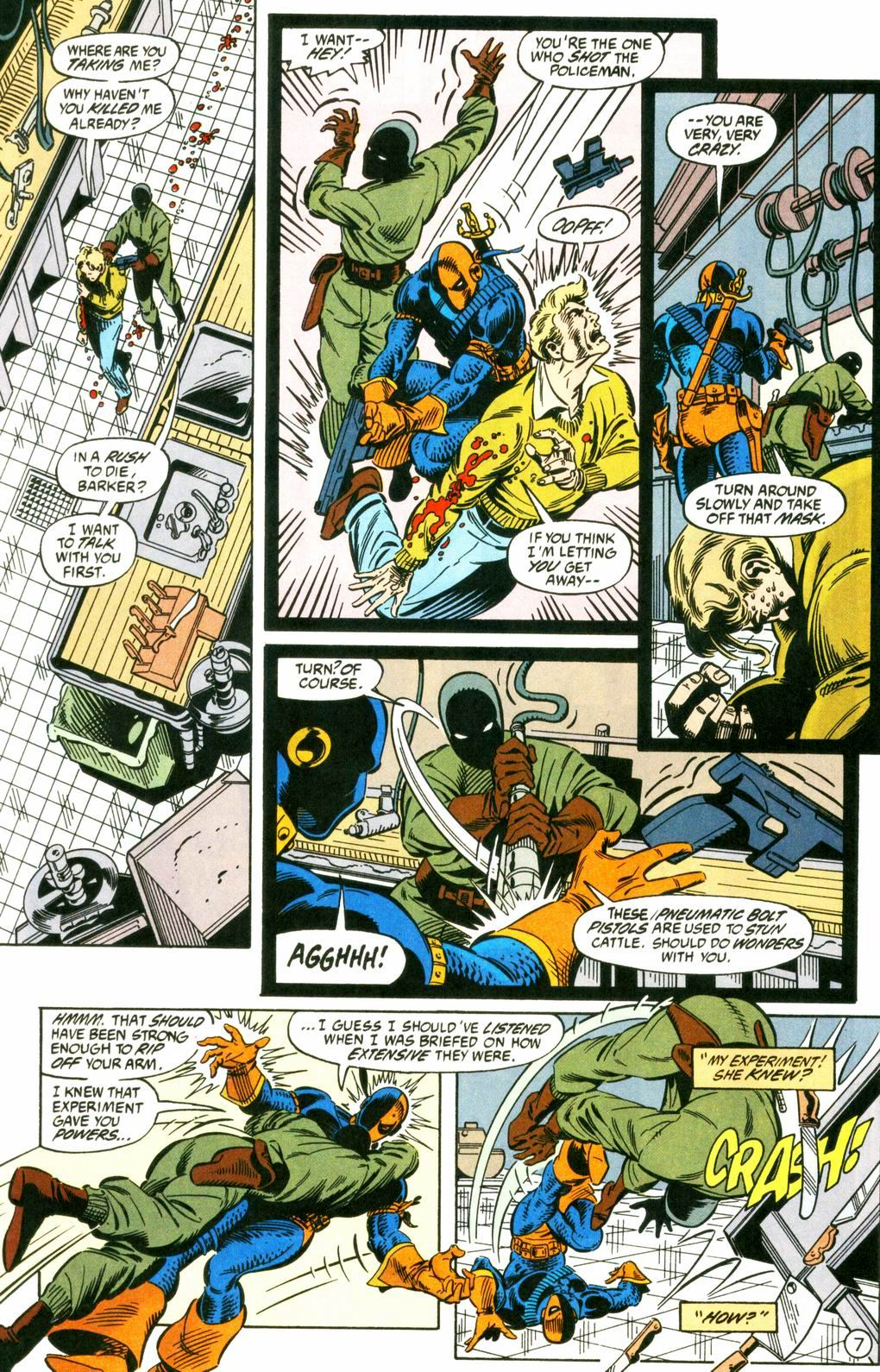 Deathstroke (1991) Issue #8 #13 - English 7
