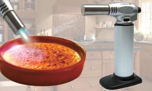 Utensilios de cocina soplete de cocina profesional for Cocina profesional