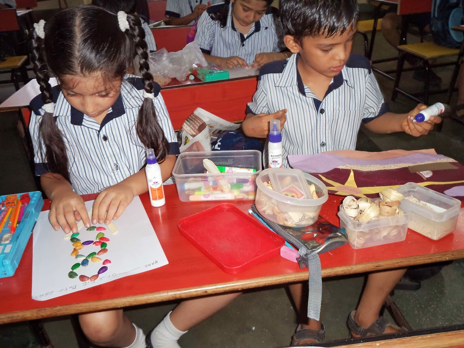The rustomjee cambridge diaries grade 2 science best out for Best out of waste for class 4