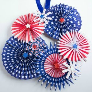 Featured Project: Fireworks Wreath