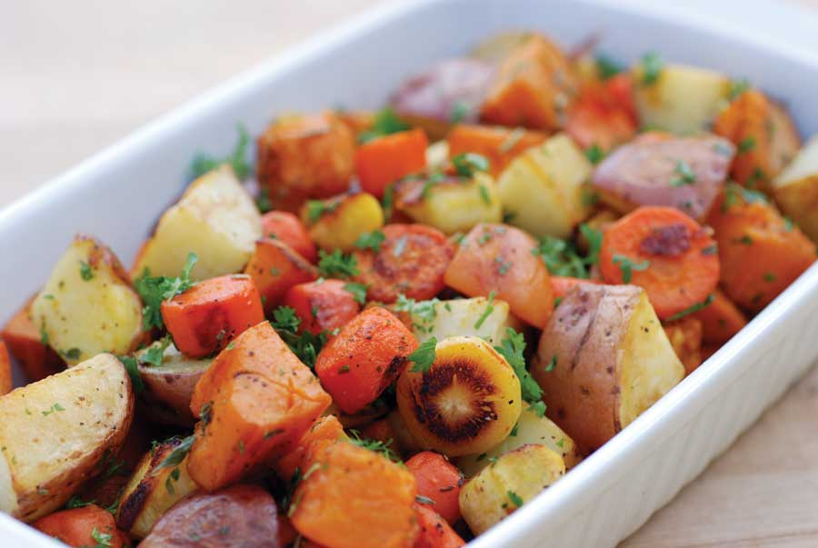 Bloggin' Back to the Land: Roasted Root Vegetable recipe!