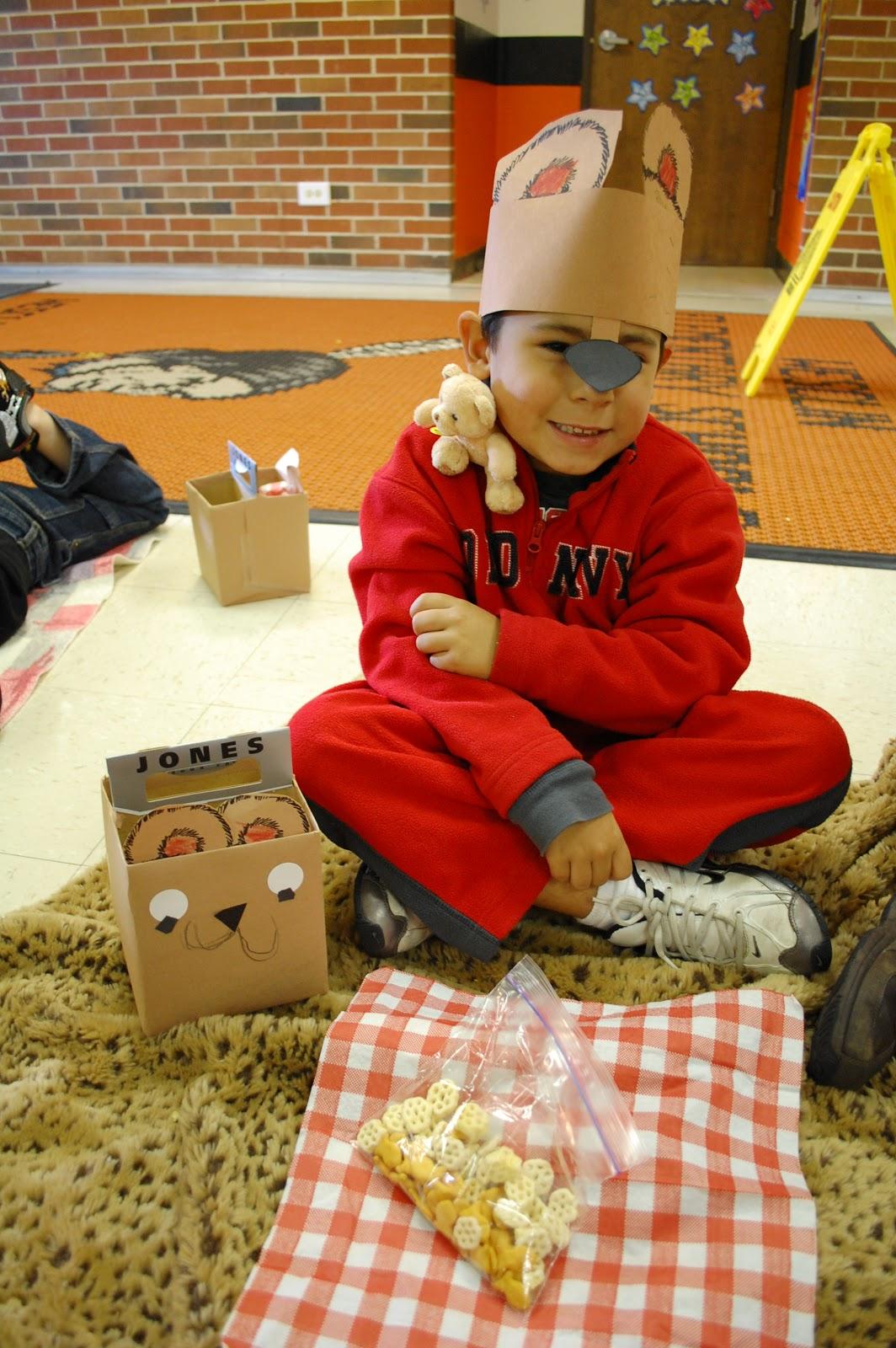 little warriors preschool teddy picnic amp math and literacy centers 200