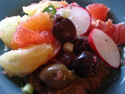 Radish and Grapefruit Salad