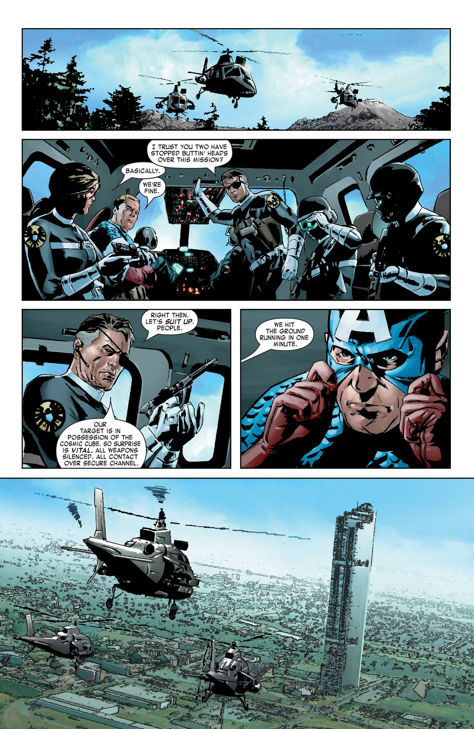 Captain America (2005) Issue #9 #9 - English 12