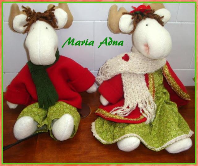 Decoração Natal, As renas, Renas de natal