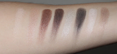 Clinique's Pretty Easy Eye Palette Swatches