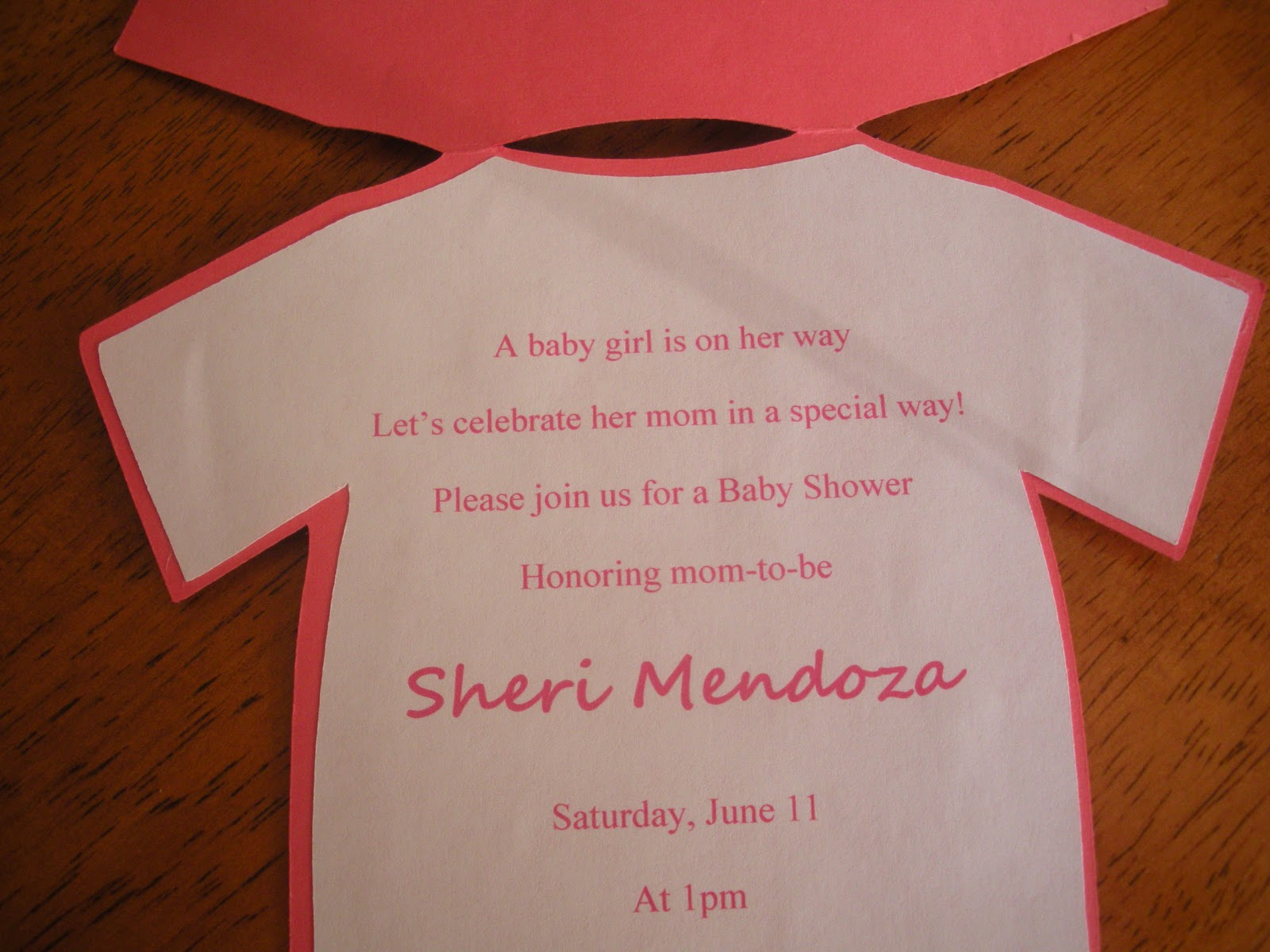 Jenns paper crafts baby shower invitations girl jenn posted by jenns paper crafts filmwisefo Choice Image