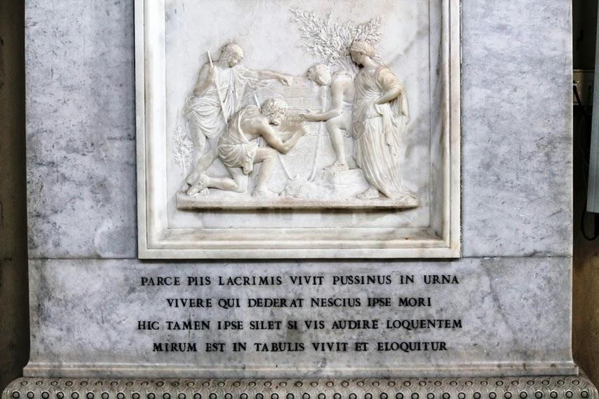 Dice che a Roma...: Dice che Poussin si è portato il segreto nella tomba.  Letteralmente.