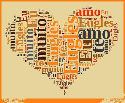 cartão em forma coração para namorado