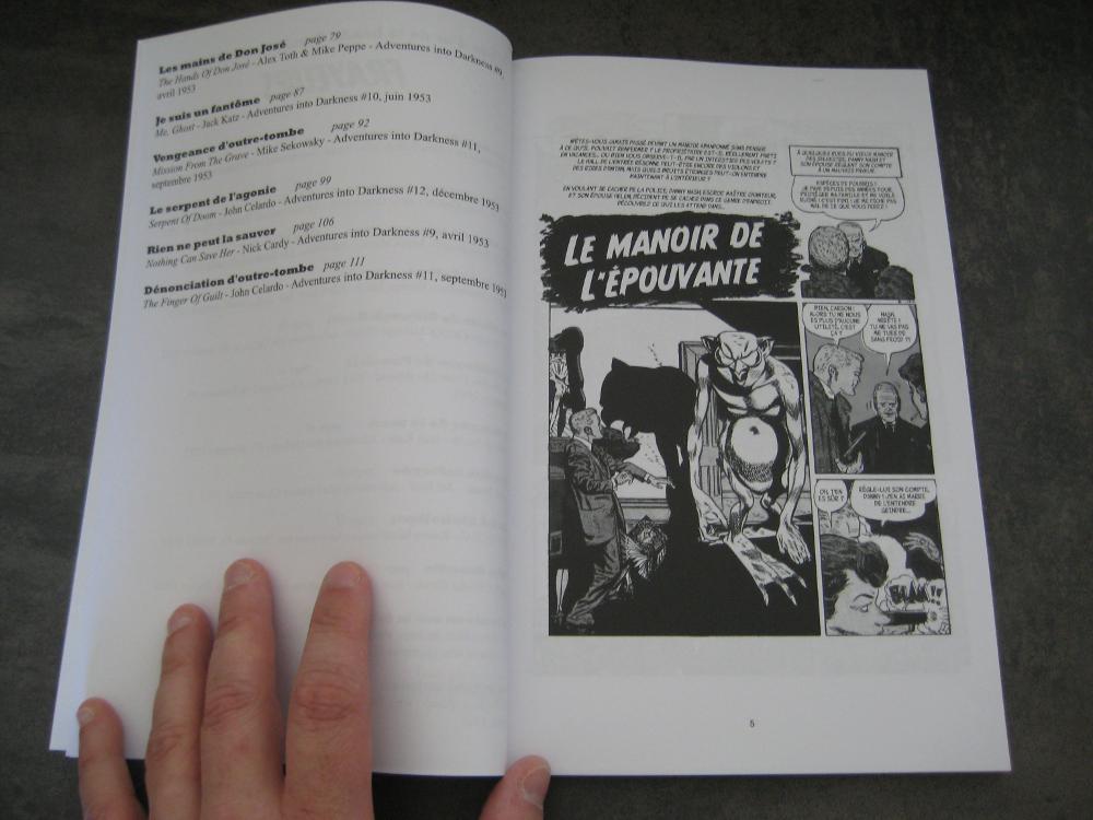 L'ÂGE D'OR DE LA BANDE DESSINÉE AMÉRICAINE - FRAYEURS IMG_0107