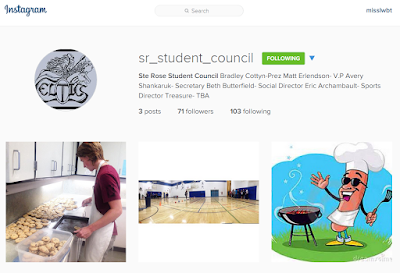 Ste Rose School, Ste Rose MB, Ste Rose Student Council, student council manitoba, manitoba student leadership, student council instagram