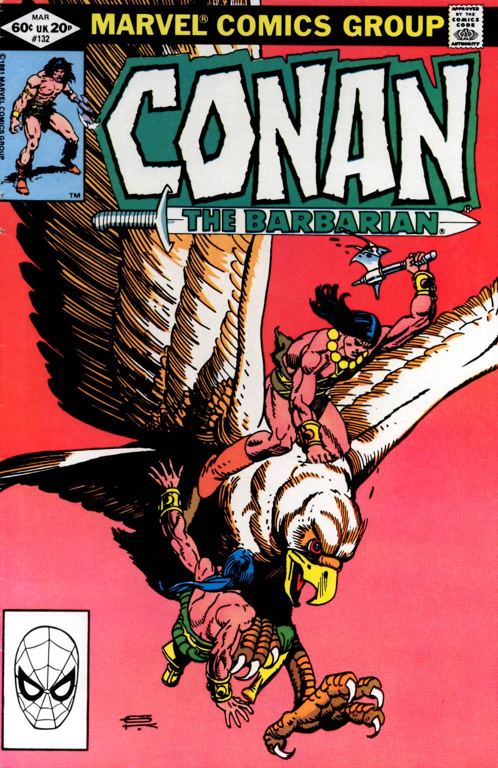 Conan the Barbarian (1970) Issue #132 #144 - English 1
