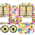 Art: Princess Carriage Shaped Free Printable Box.