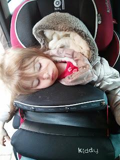 Sleeping in the Kiddy