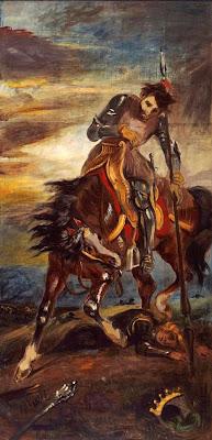 Rey Rodrigo (Eugène Delacroix)
