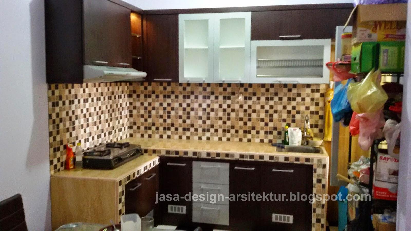 Kontraktor dan desain interior sidoarjo katalog dan harga for Kitchen set lurus