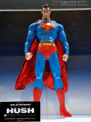 "Medicom RAH Kick-Ass 2 12"" Batman Hush Superman Figure (display image)"