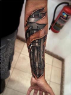 Arm Tattoo Sample Design