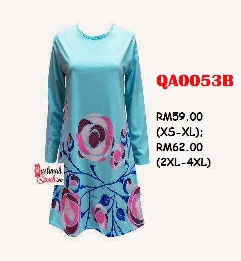 T-Shirt-Muslimah-Qaseh-QA0053B