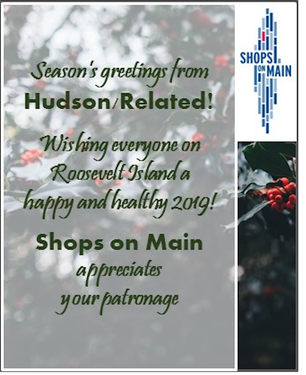Seasons Greetings From Hudson Related