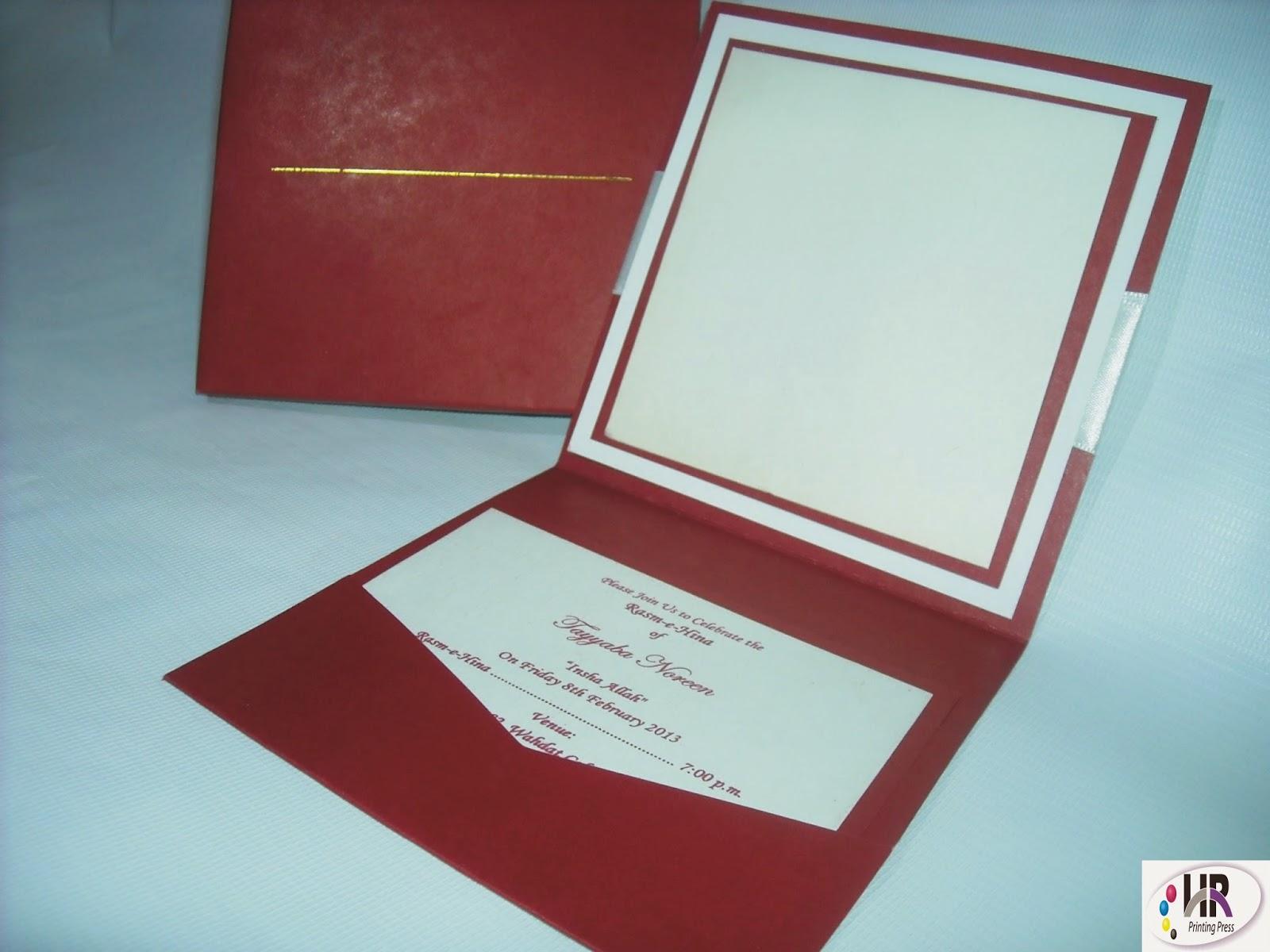 Luxury Wedding Invitation Cards | Township Printers