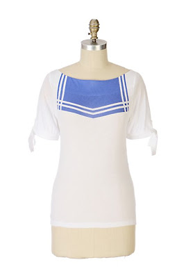 Anthropologie Nautical Nonsense Tee