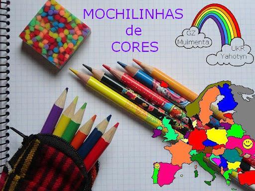 Mochilinhas de cores