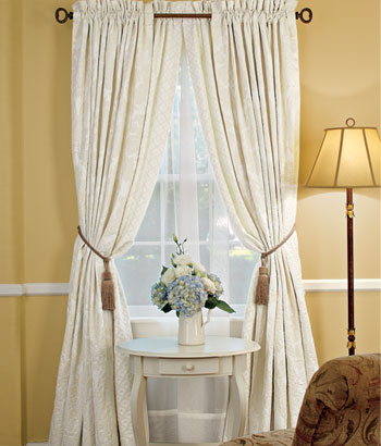 Courtyard Thermal Lined Rod Pocket Curtain Panel Drapes | eBay