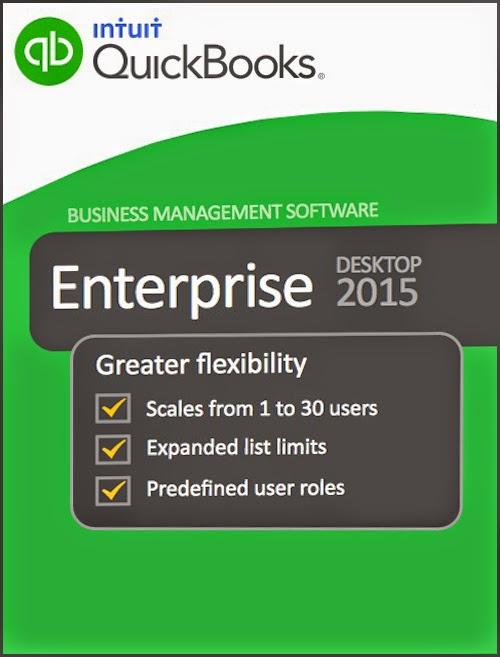 Intuit QuickBooks Enterprise Accountant 2015 15.0 R4