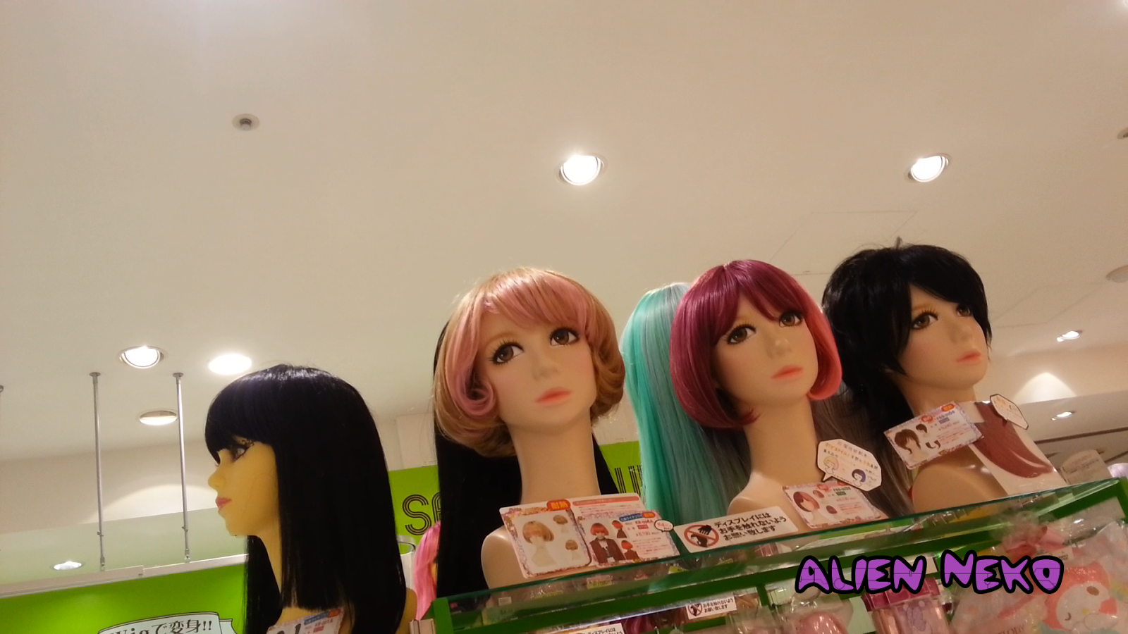 Japanese anime wigs