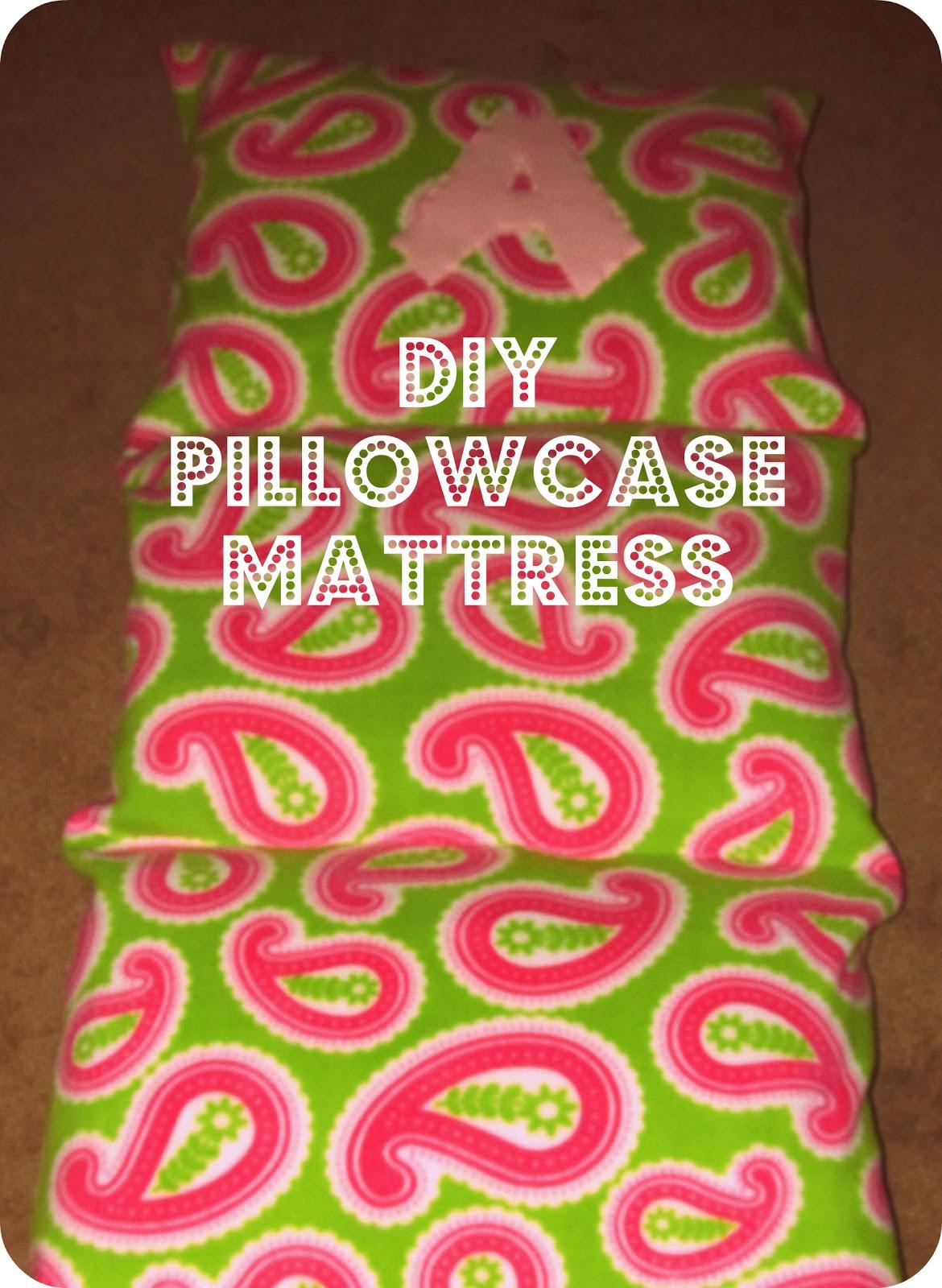 Diy Pillowcase Lounger: Bit of Blue Sky  Pillowcase Mattress Tutorial,