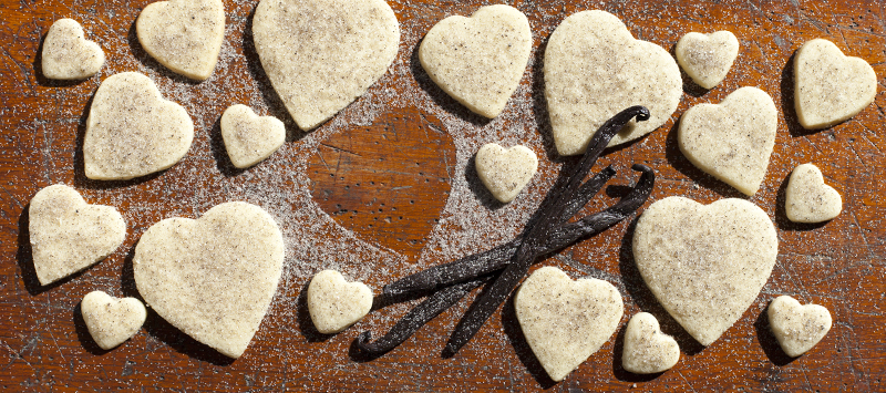 Tahitian Vanilla Sugar Cookies - Vanilla From Tahiti
