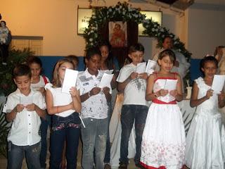 Imágens da segunda noite do tríduo festivo em honra a São José no bairro do açude